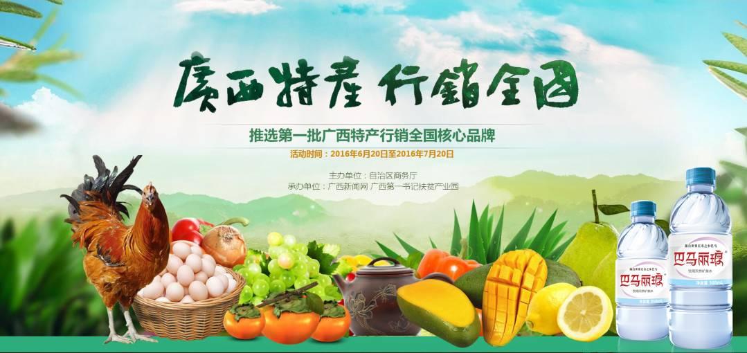 巴马bwin客户端下载荣登广西特产行销全国核心品牌榜